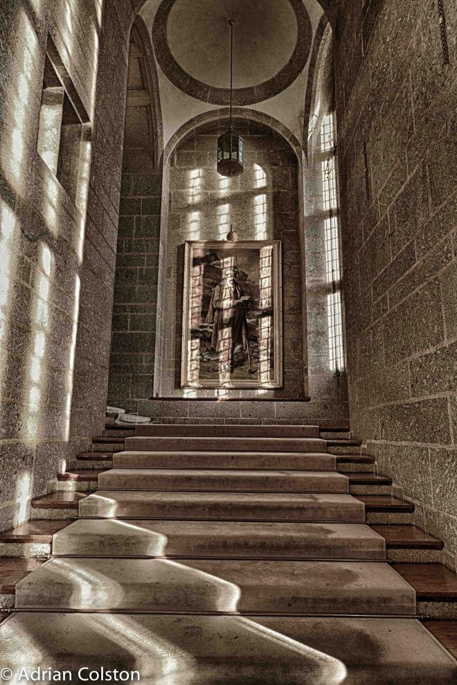 Julius - stairs HDR 1
