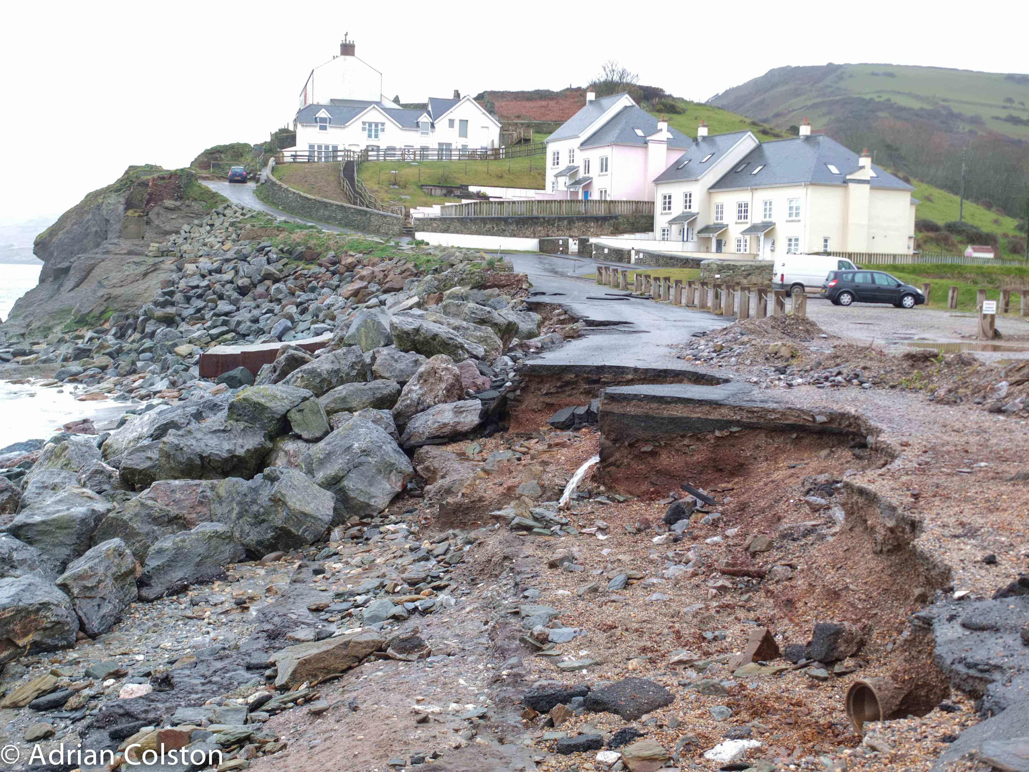 South Devon Coastal Damage A Dartmoor Blog