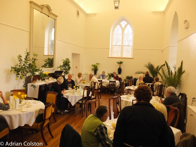 Chapel tea room