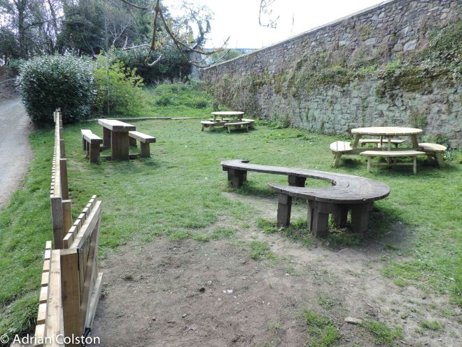 New Parke picnic benches