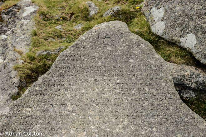 10 commandments - detail