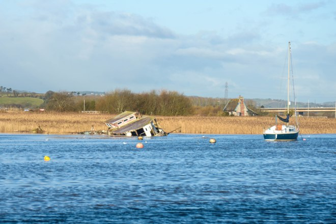 Topsham high tide 6