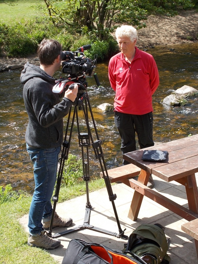 Fingle Woods filming 1