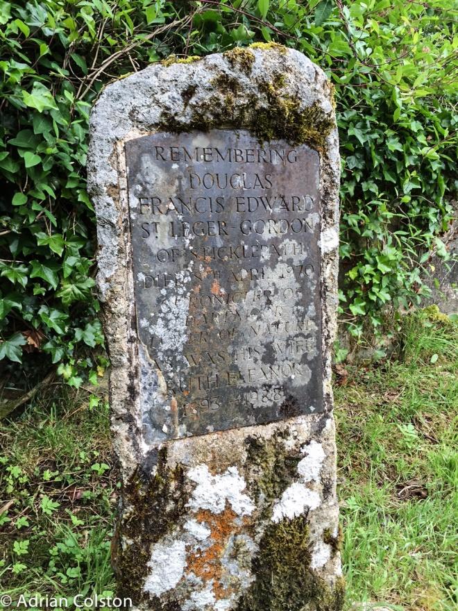Leger Gordon grave