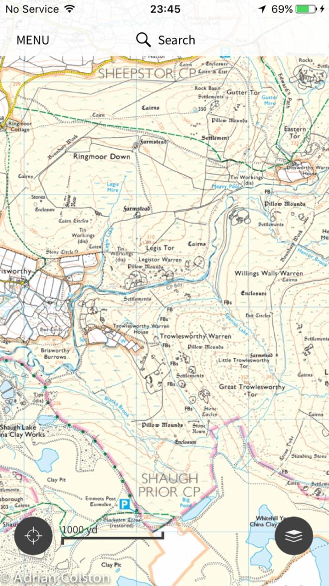 OS map 2