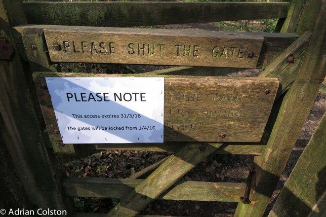 Cod Wood - access