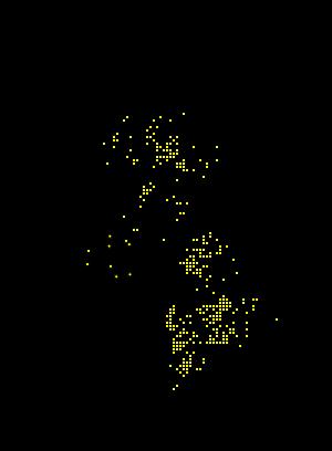 Ctenicera cuprea map