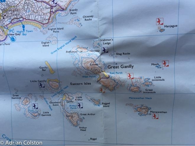 Eastern Isles OS Map