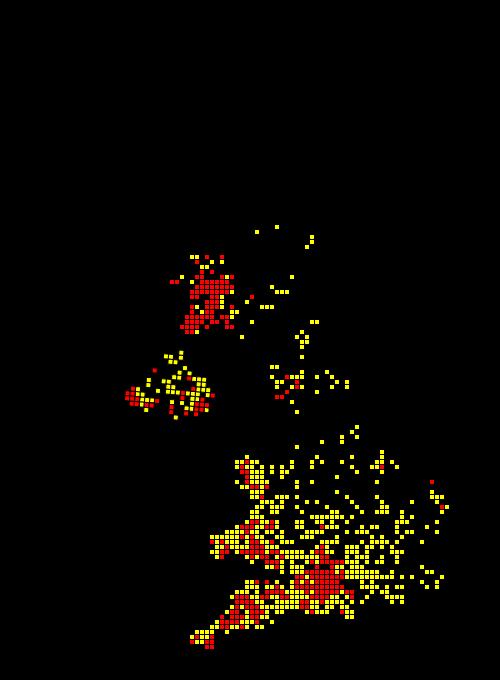 Marsh frit map 2000-16map