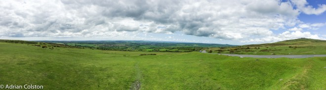 Panorama - west Devon-Cornwall