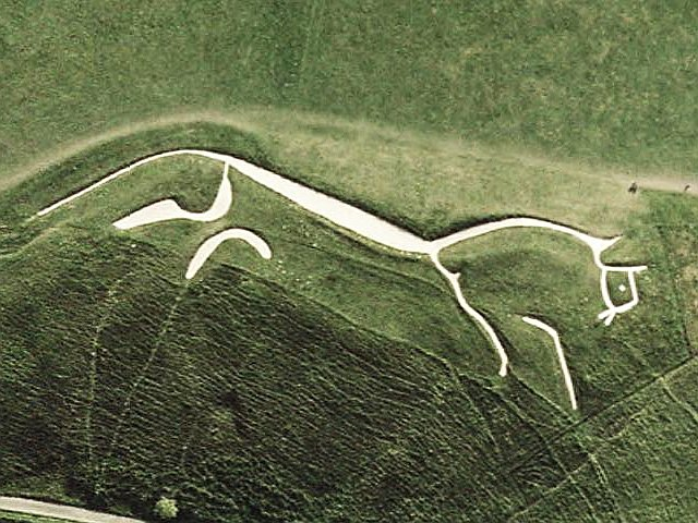Uffington-White-Horse-sat Wikimedia Commons