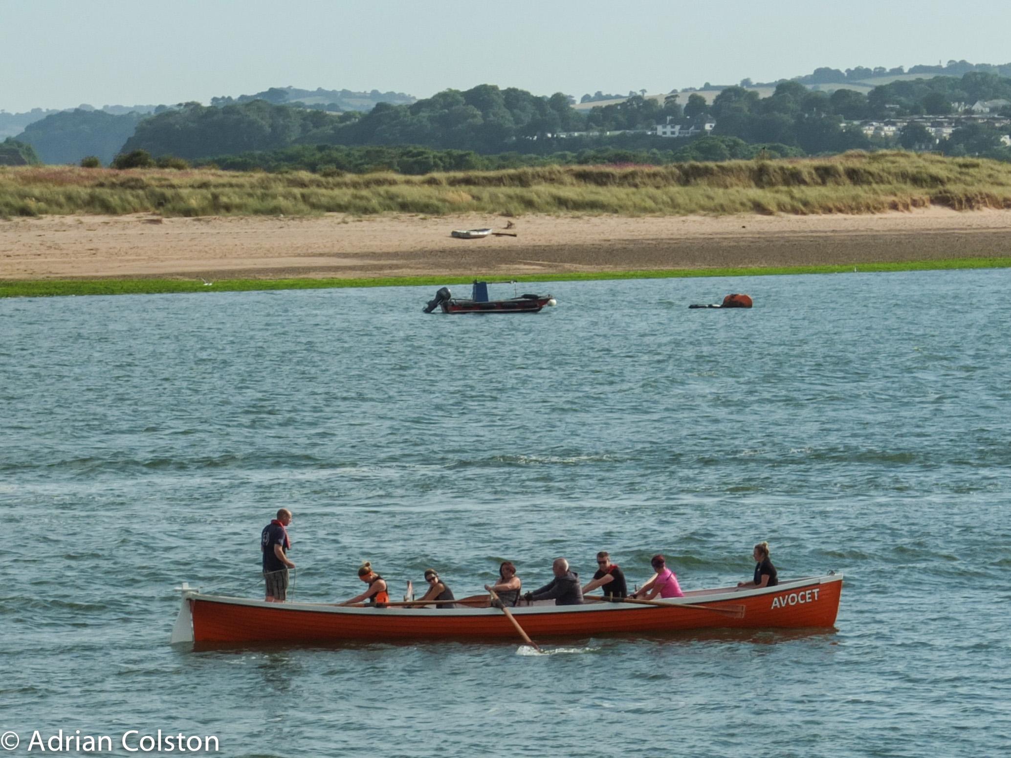 Rowing Boat Cake