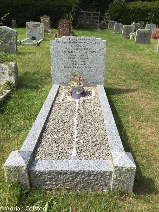 Harold Wilson's grave
